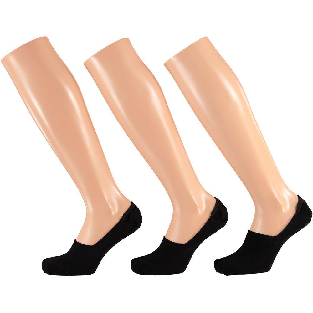 Apollo No Show Enkel Sokken Zwart