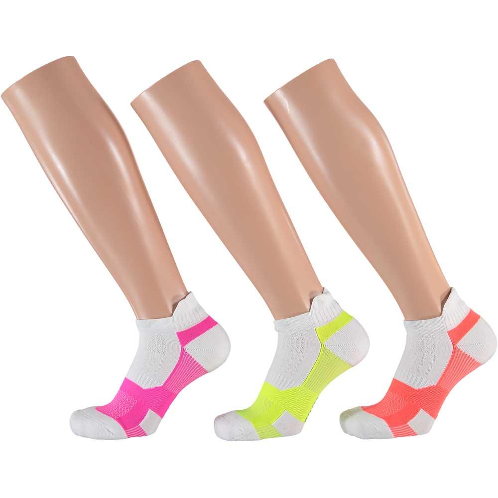 Apollo Dames Multi White Fitness sokken 3-pack-39/42