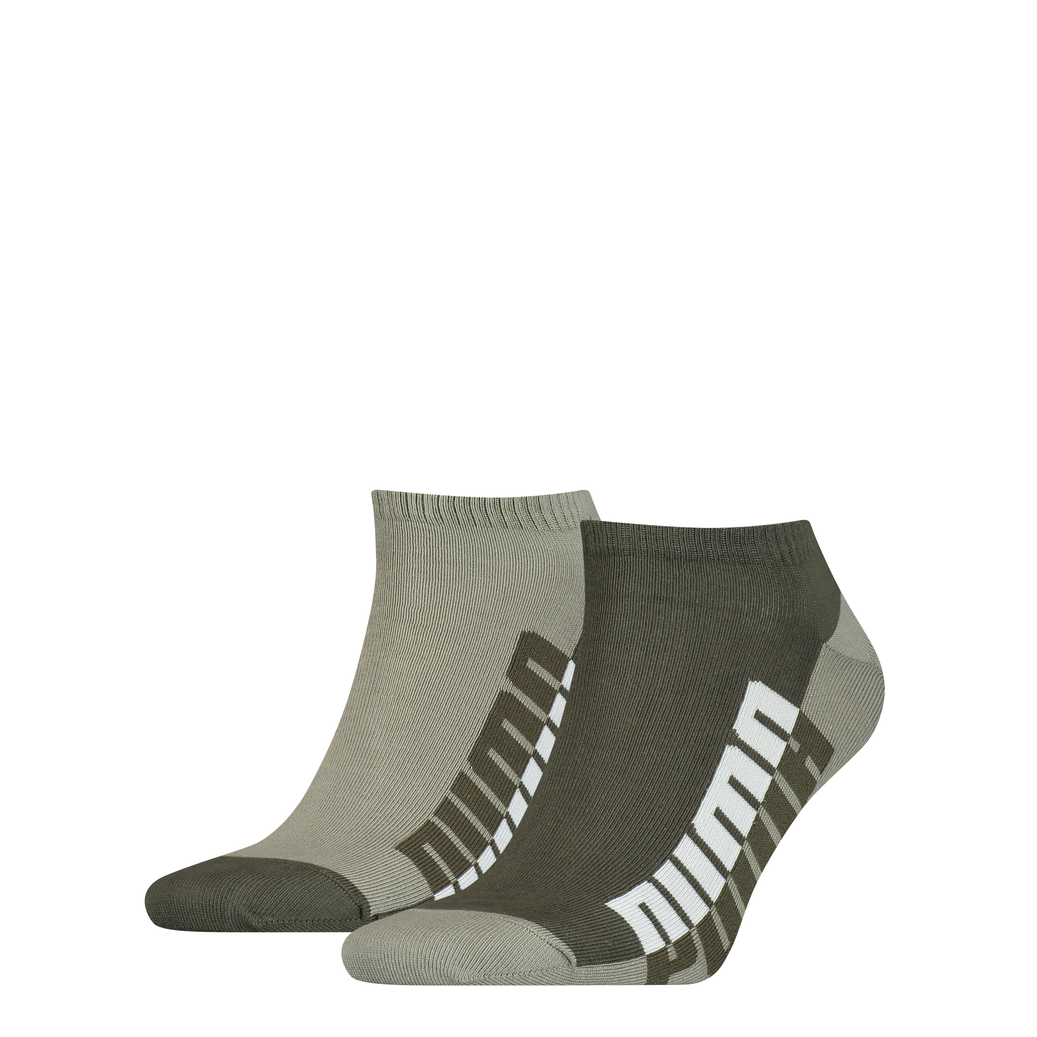 Puma Sneaker Sokken Heren 2-pack Green-39/42