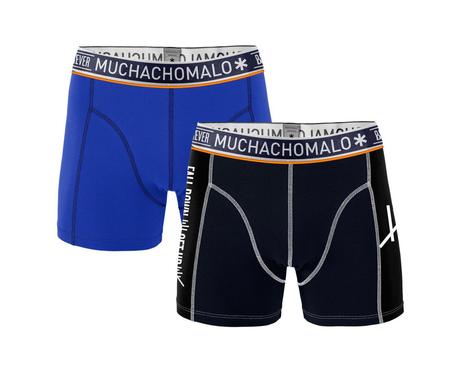 Muchachomalo 2-Pack Men Shorts Fall Down GetUp