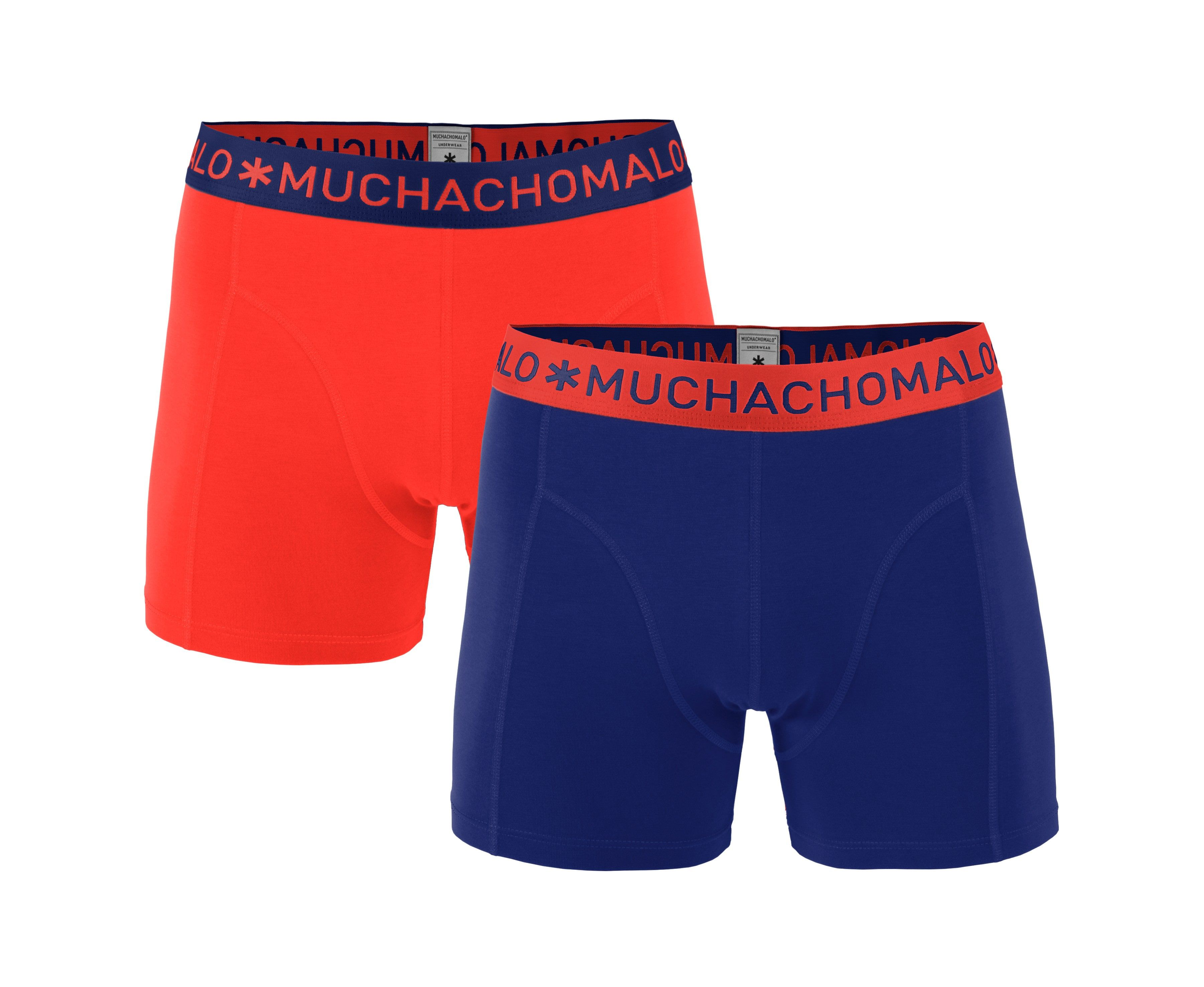 Muchachomalo 2-Pack Men Shorts Solid/Solid