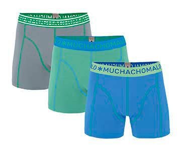 Muchachomalo 3-Pack Men Shorts Solid-M