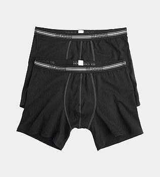 Sloggi Men Match Short C2P 2-Pack Zwart