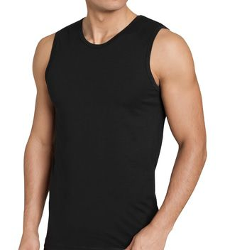 Sloggi Men EverNew Tank Shirt 02 Shirt Zwart