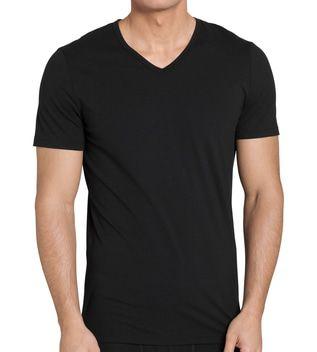 Sloggi Men EverNew Shirt 03 V-Neck Zwart