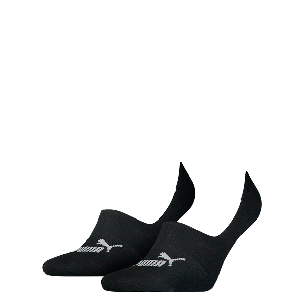 Puma sokken Footie zwart 2-pack-39-42