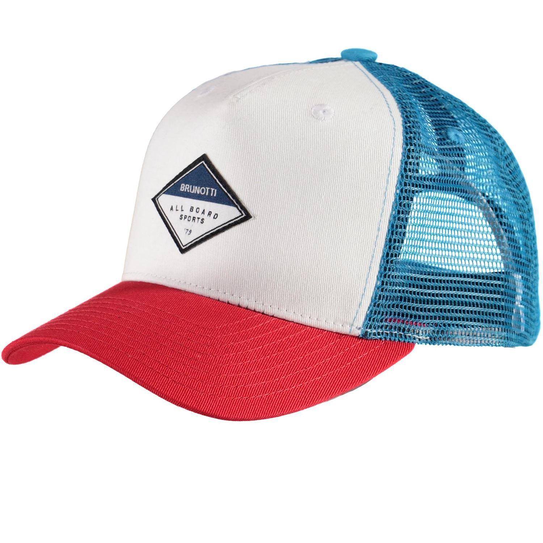 Trucker Men Cap Rood Wit Blauw