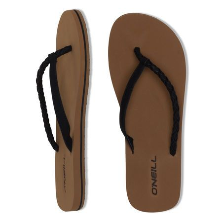 O'Neill Queen Slippers Black Out