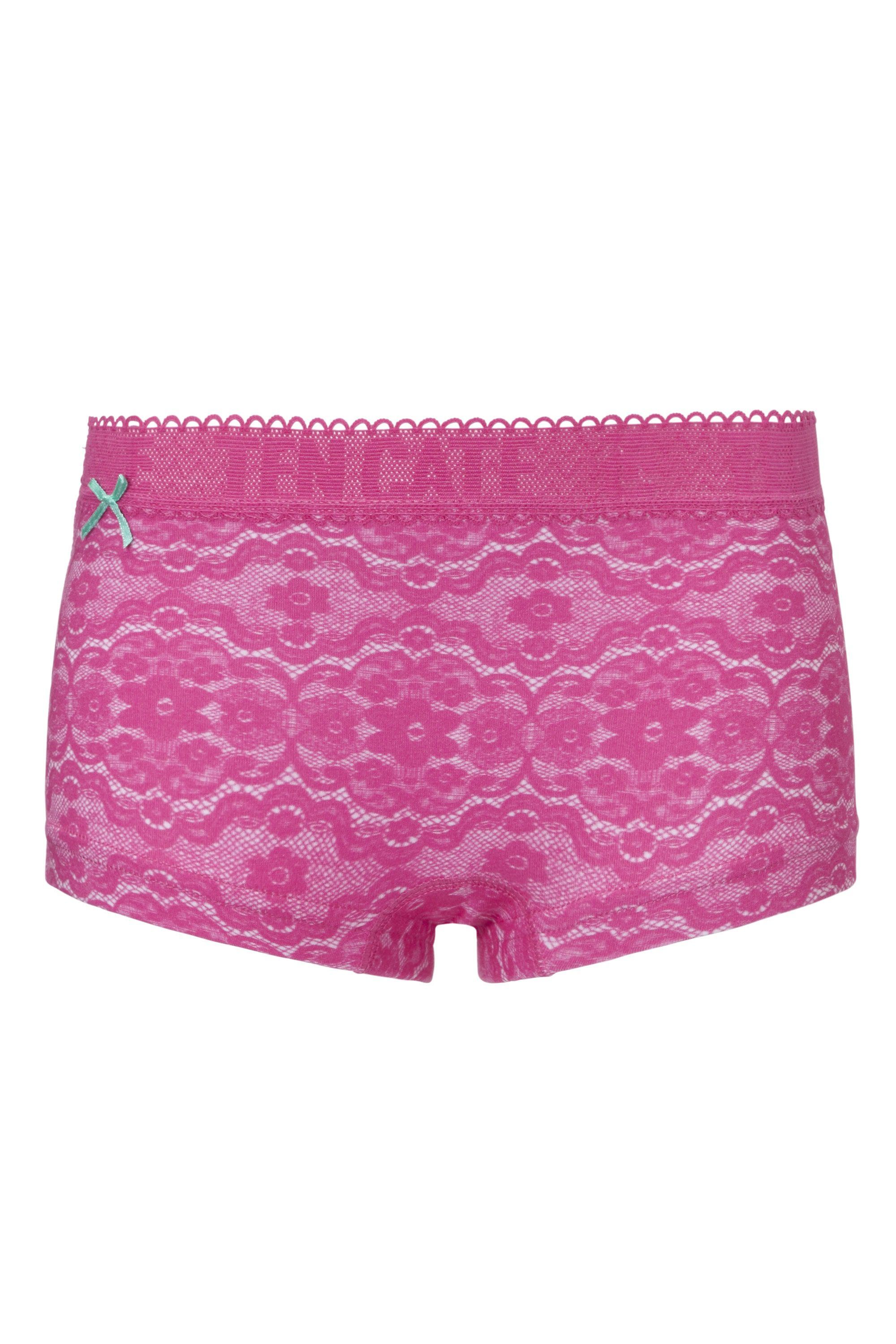 Ten Cate Girls Hipster Lace Pink-146/158