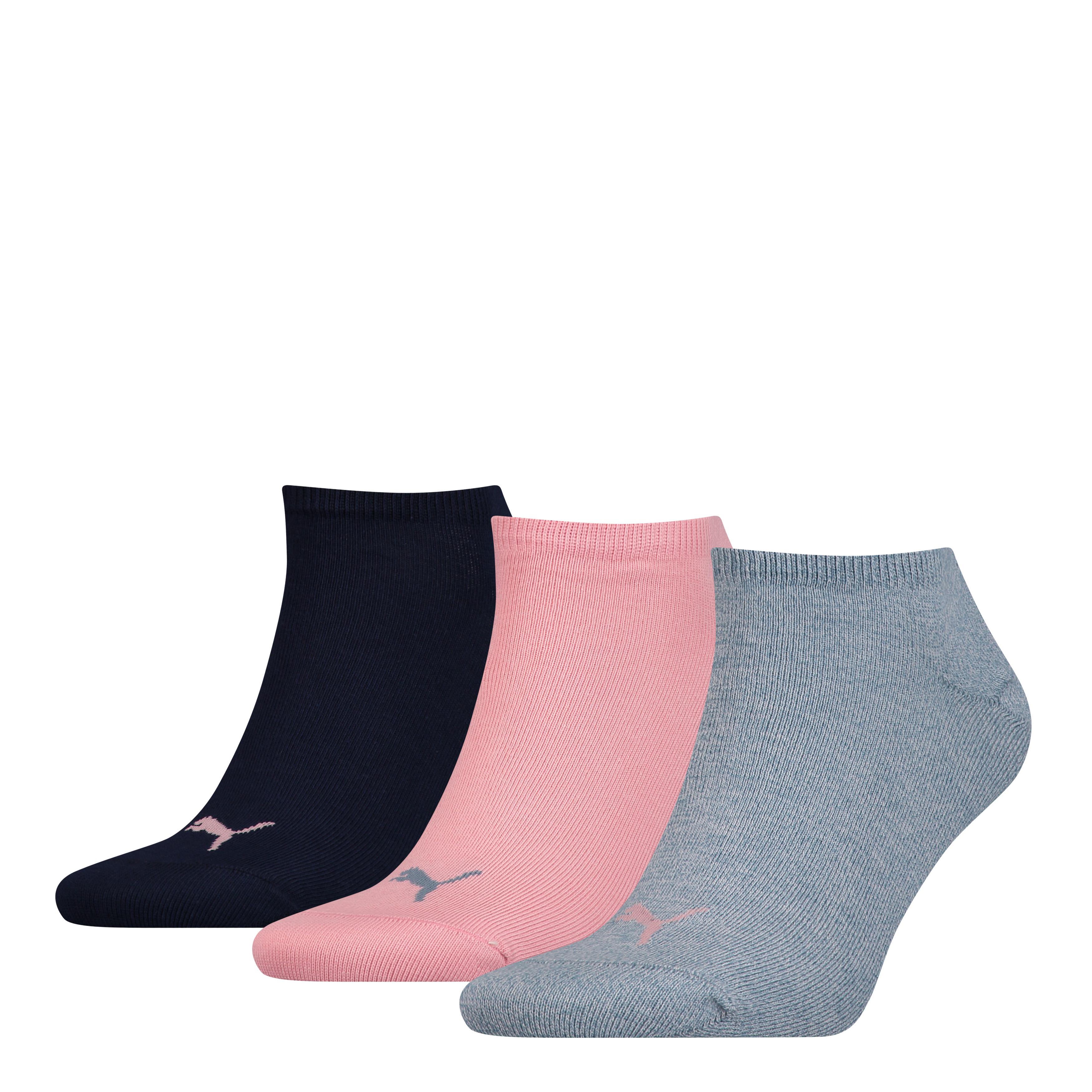 Puma sokken sneaker plain Blue Light 3-pack-39/42