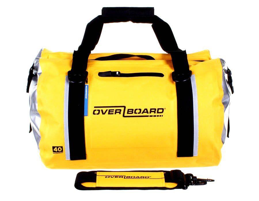 Overboard Duffel Bag Geel - 40 liter