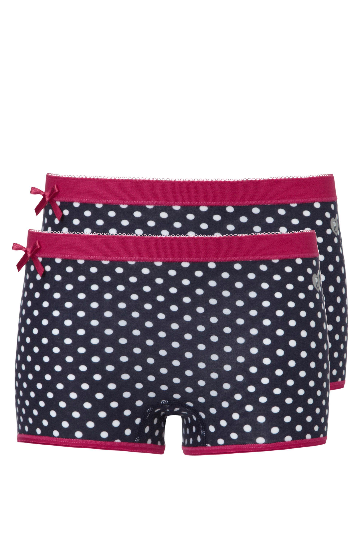 Ten Cate 2 Pack Girls Basic Short Dot print