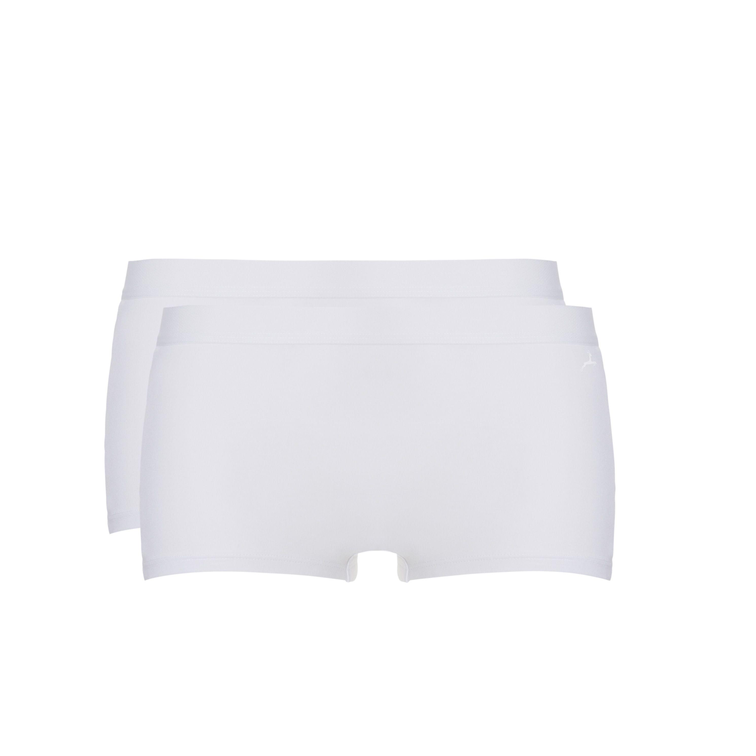 Ten Cate Fine women Shorts Wit 2-pack