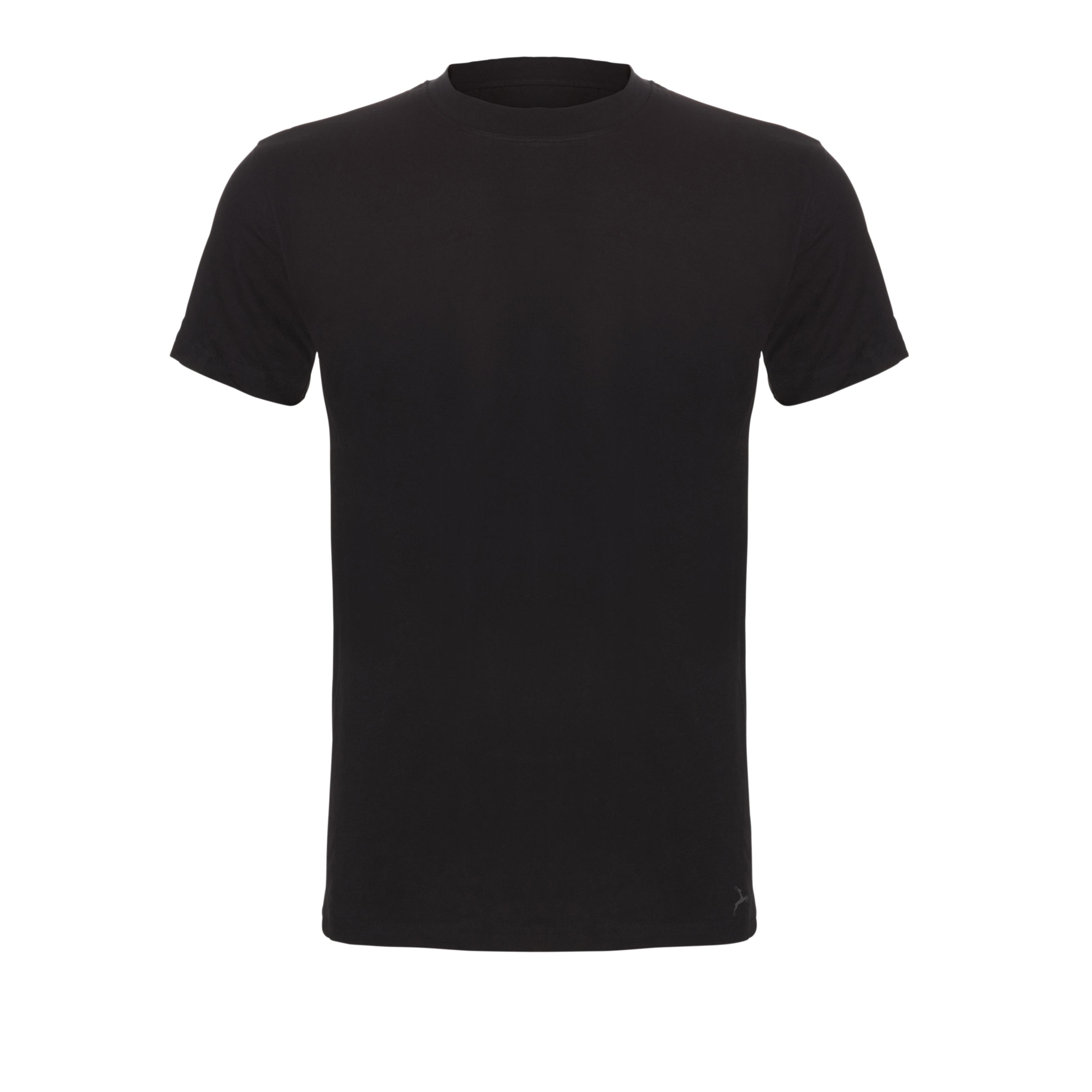 Ten Cate Men Basic t-shirt Bamboo Black