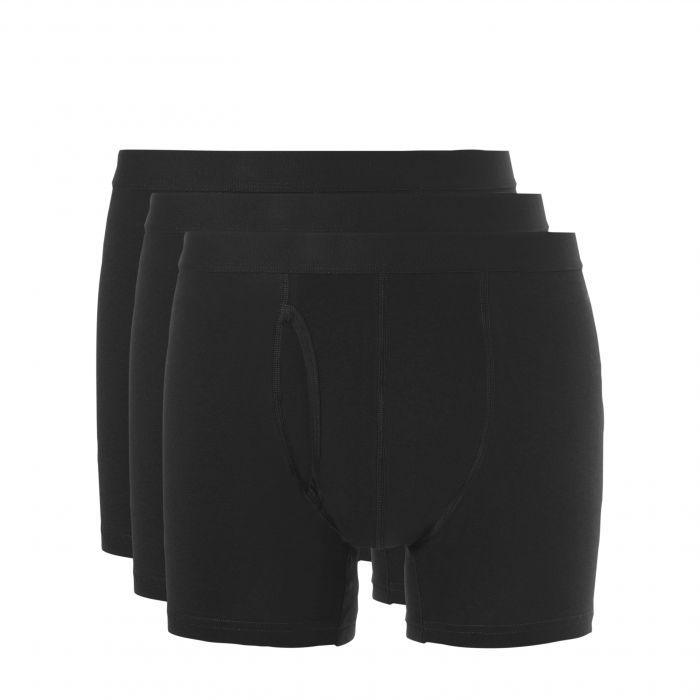Ten Cate heren boxershorts 3-pack Zwart