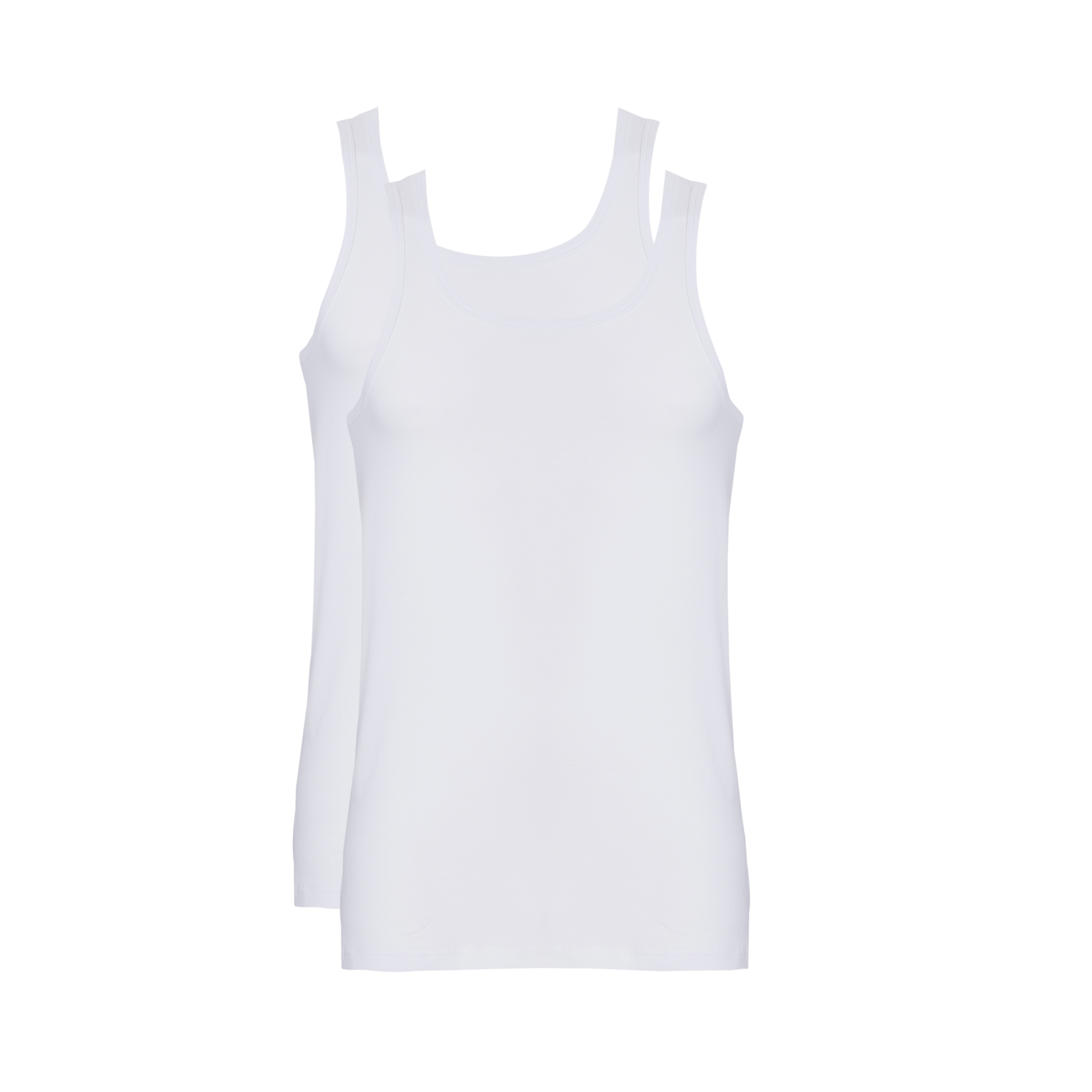 Ten Cate Men Nos Fine Singlet Wit