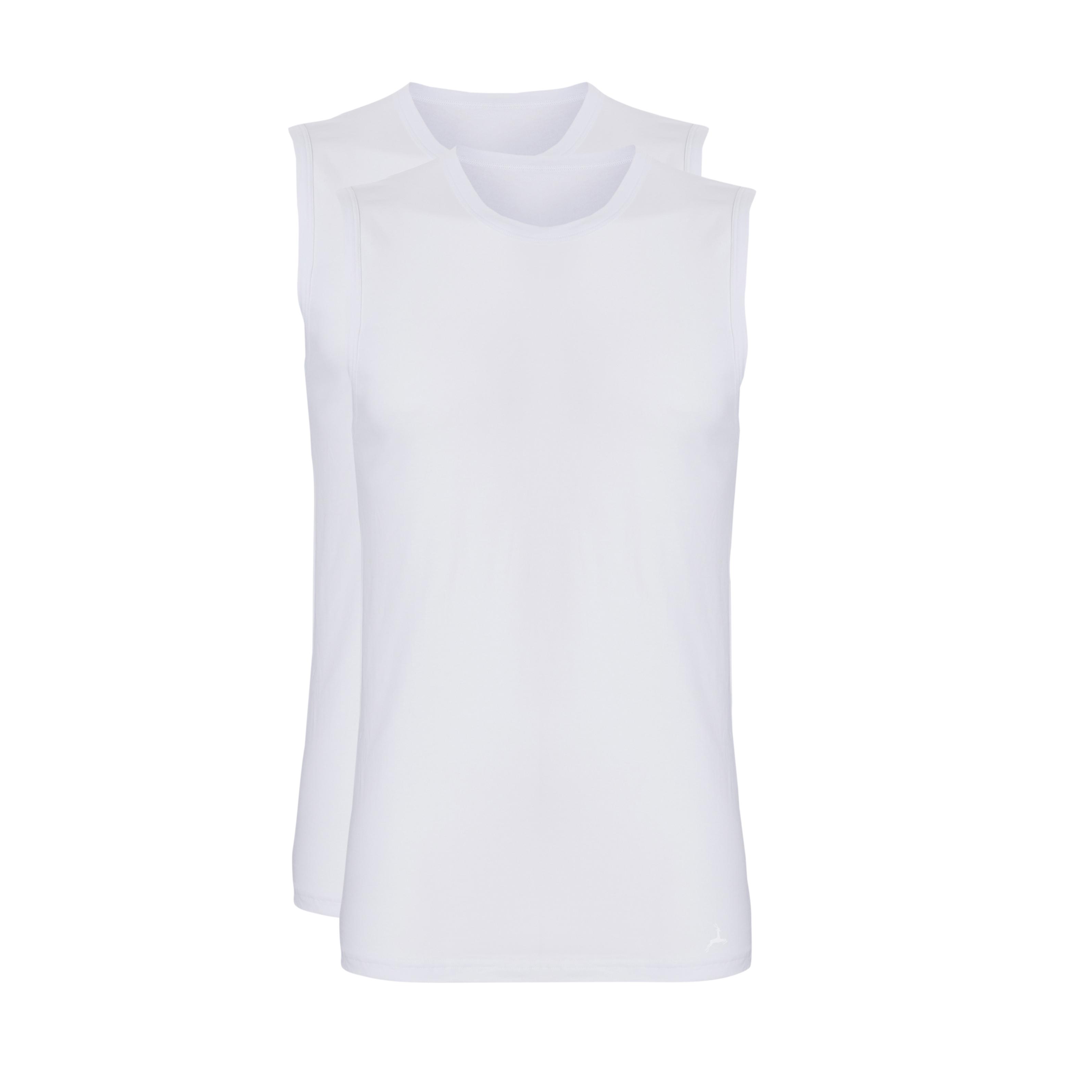 Ten Cate Men Fine Shirt Sleeveless Wit
