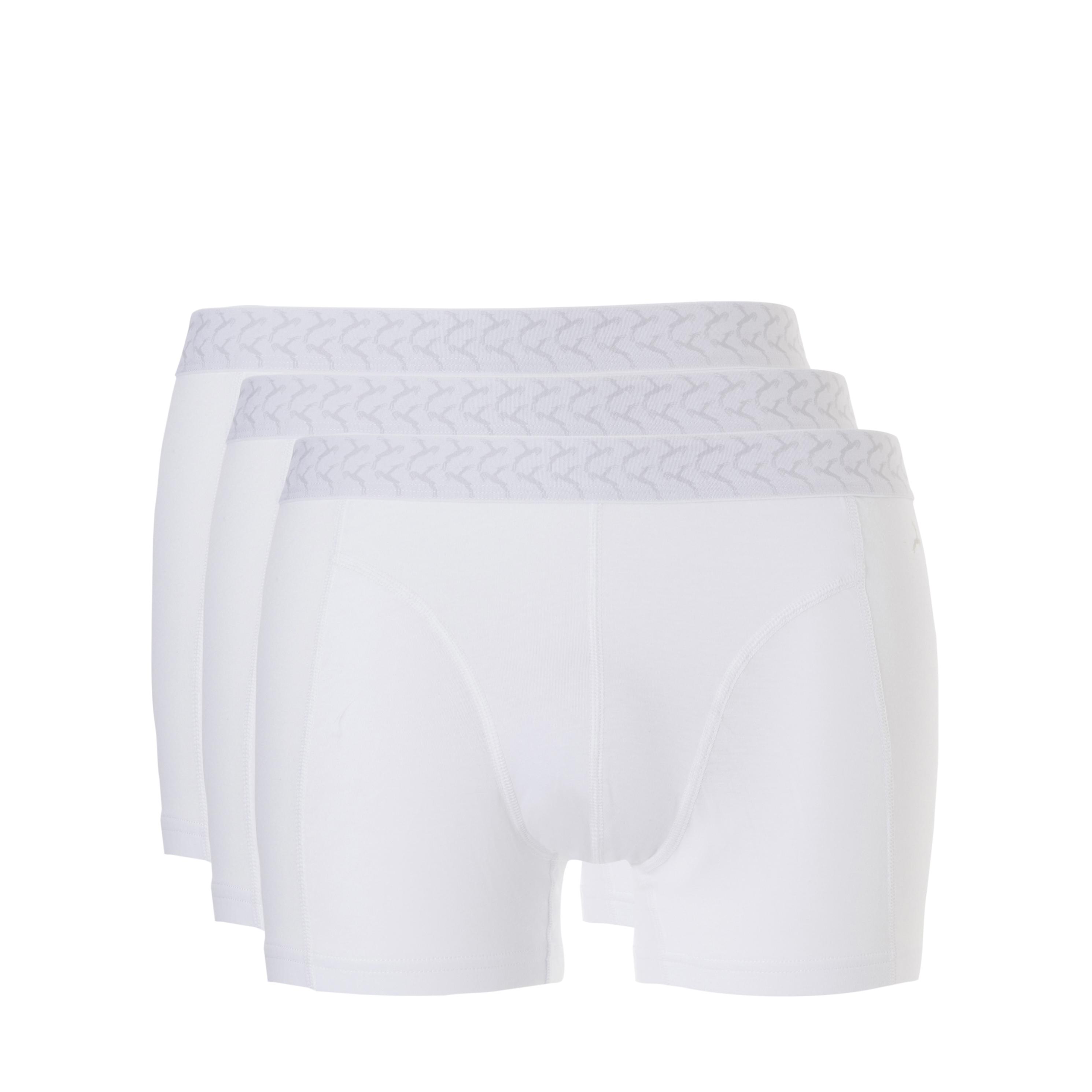 Ten Cate Men Basic Shorts Wit - 3-pack