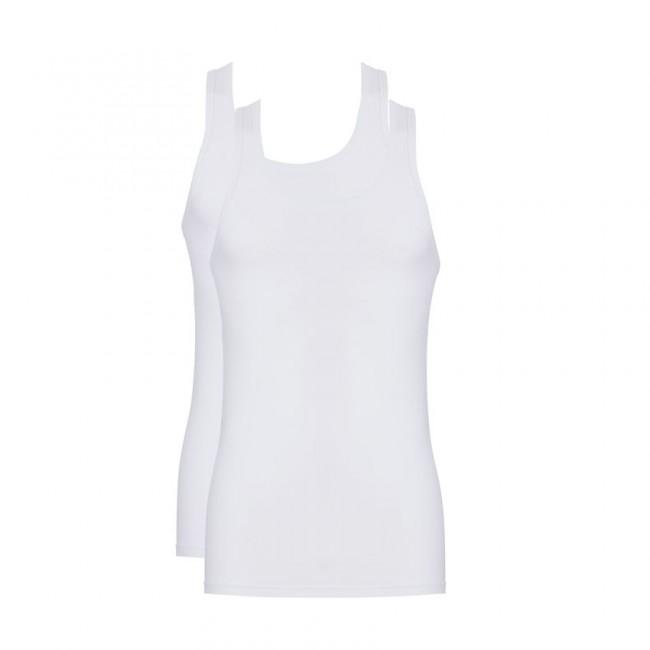 Ten Cate Men Shirt Ronde hals Wit 2-pack