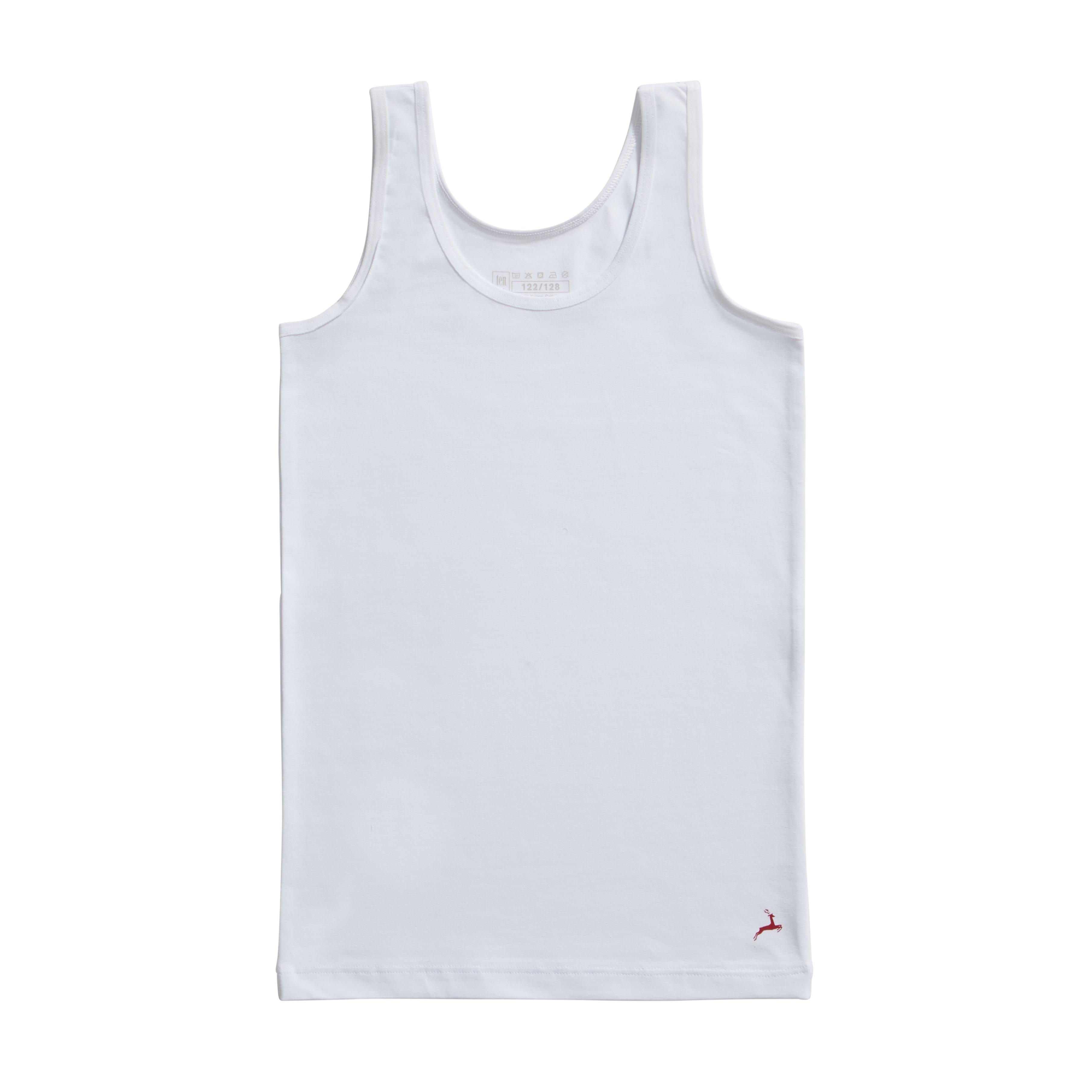 Ten Cate Kids Girls Shirt white