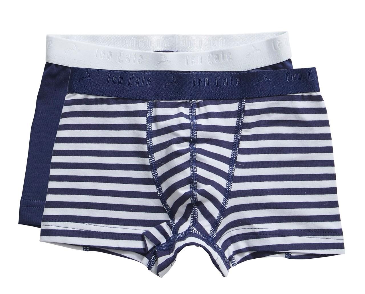 Ten Cate Kids Boys Shorts Blue 2-pack