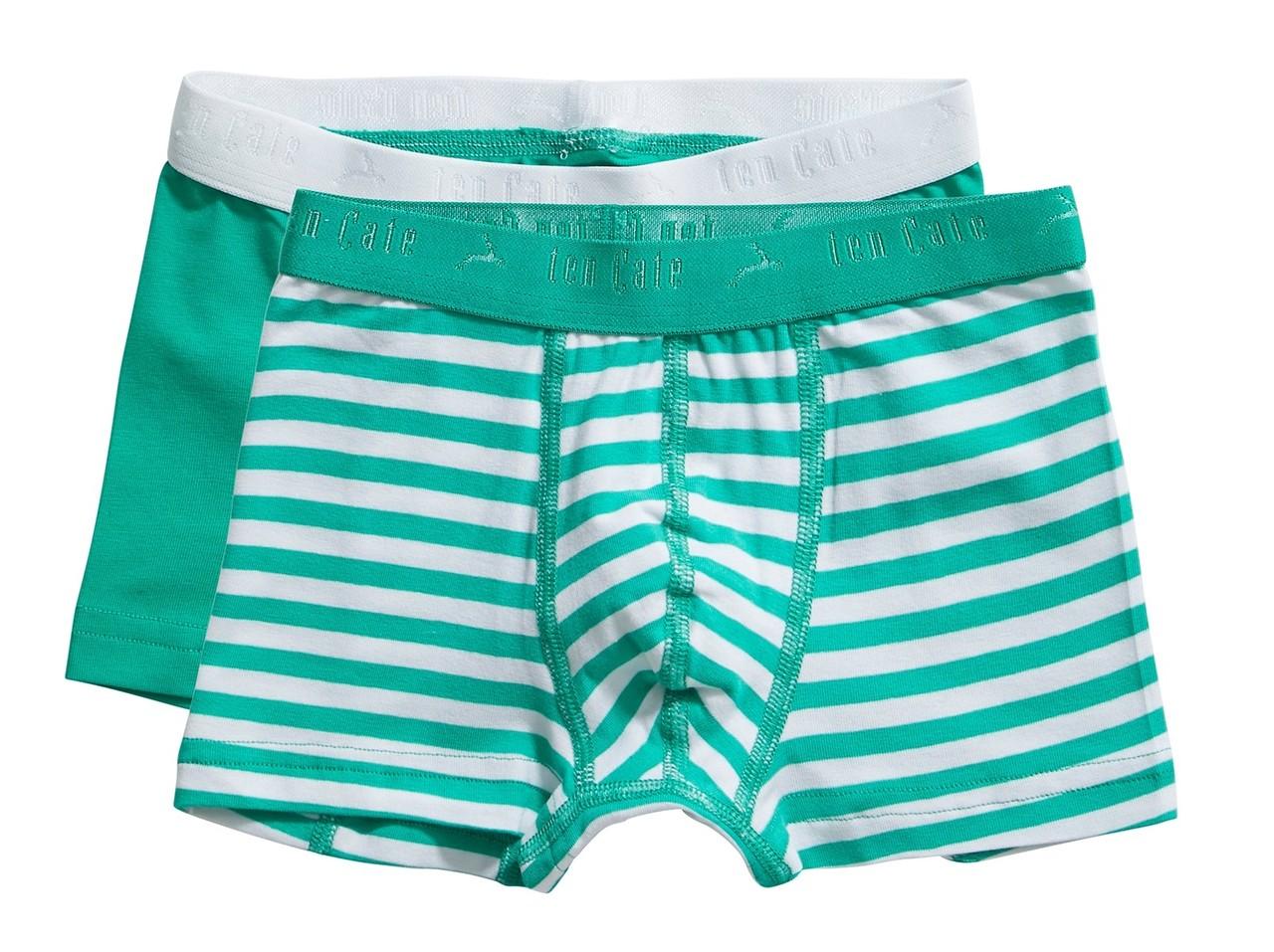 Ten Cate Kids Boys Shorts Mint 2-pack