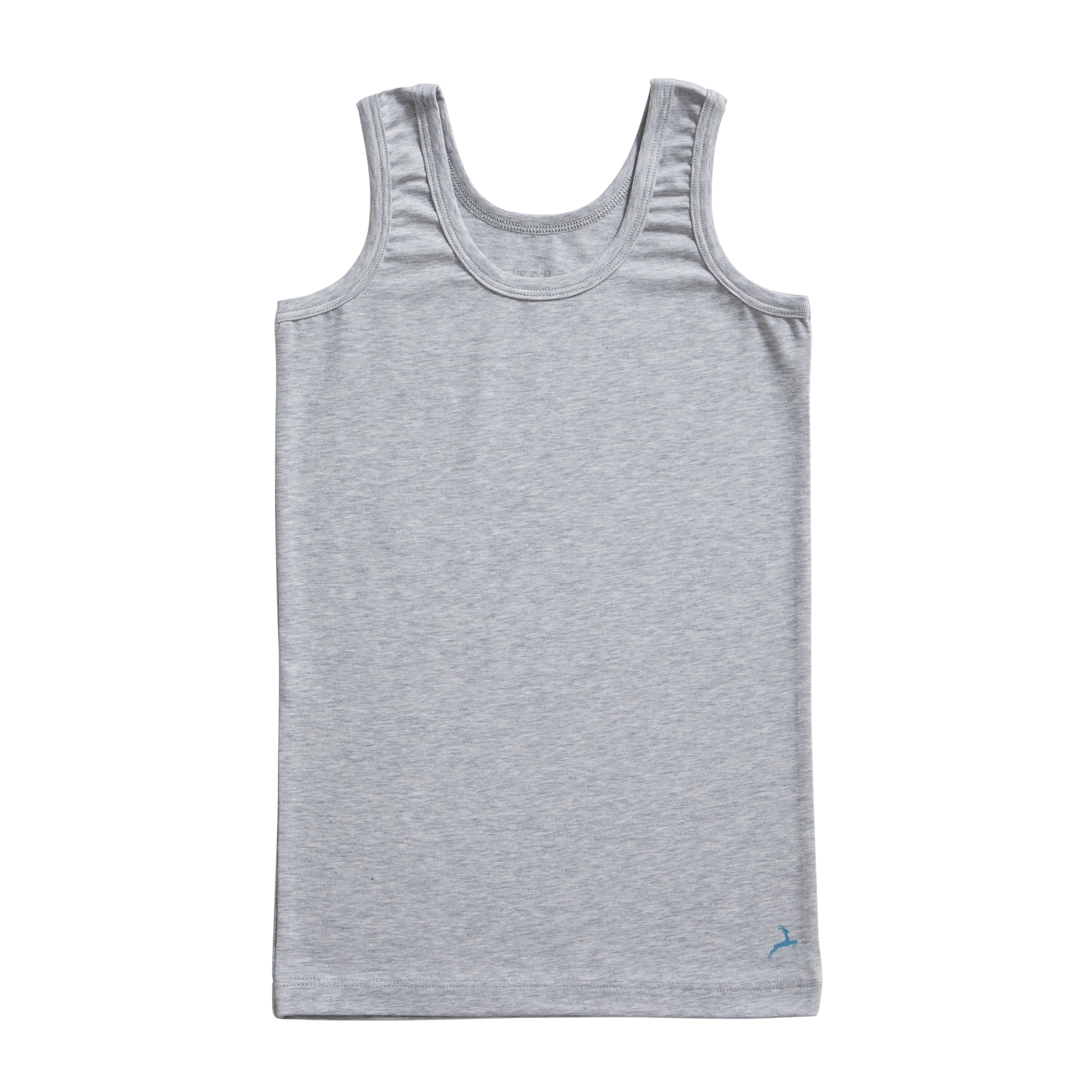 Ten Cate Kids Boys Shirt grey melee