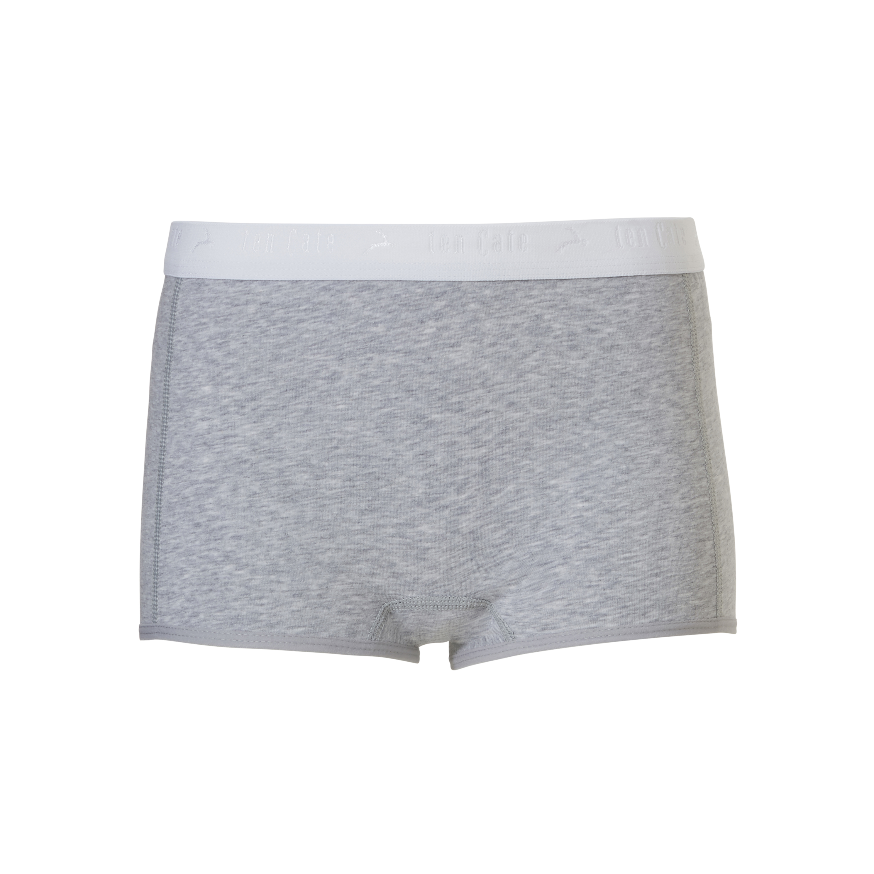 Ten Cate Kids Girls Shorts grey melee 2-pack