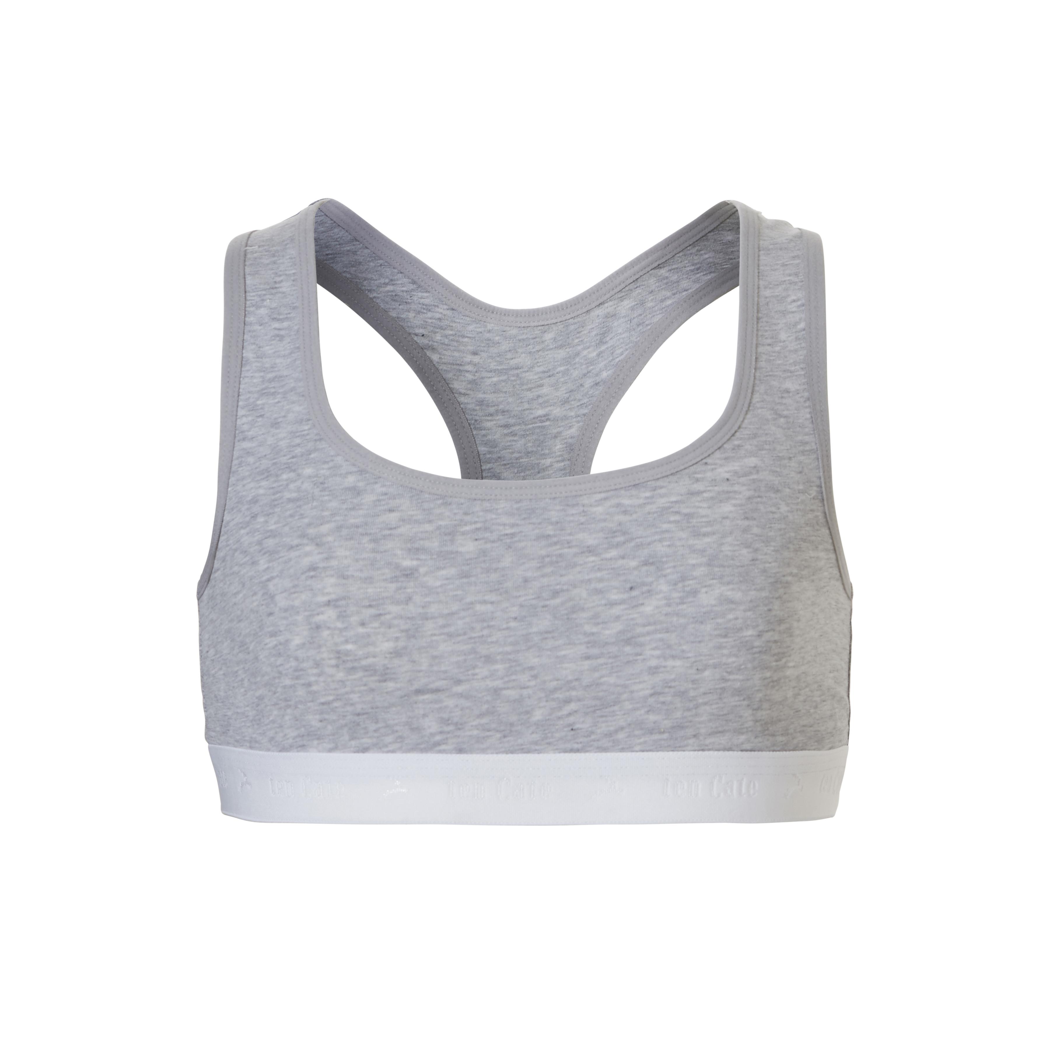 Ten Cate Teen Girls Basic Soft Top light grey