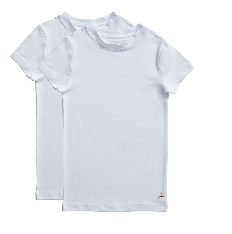 Ten Cate Boys Teens T-Shirts White 2-Pack