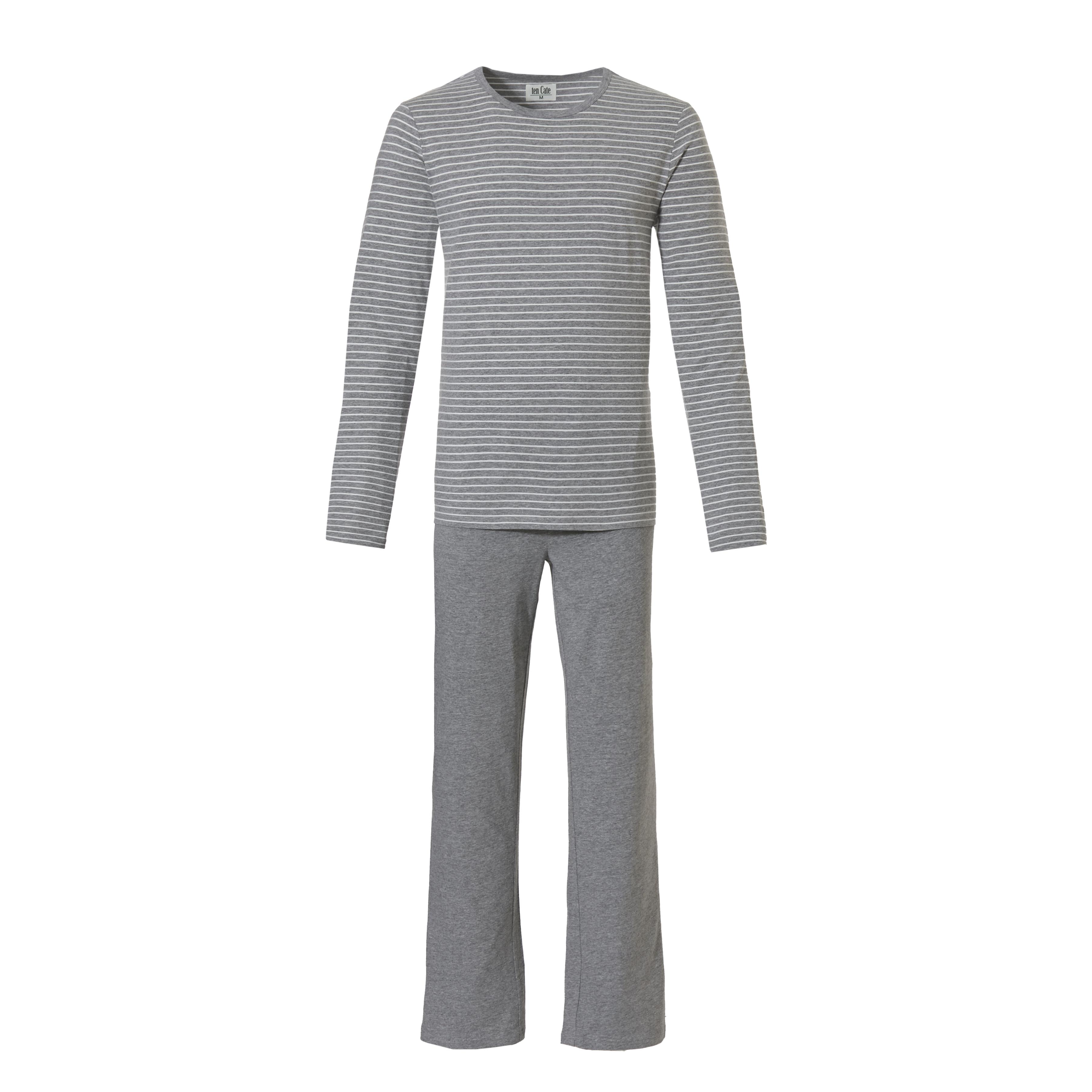 Ten Cate heren pyjama Grey Melee