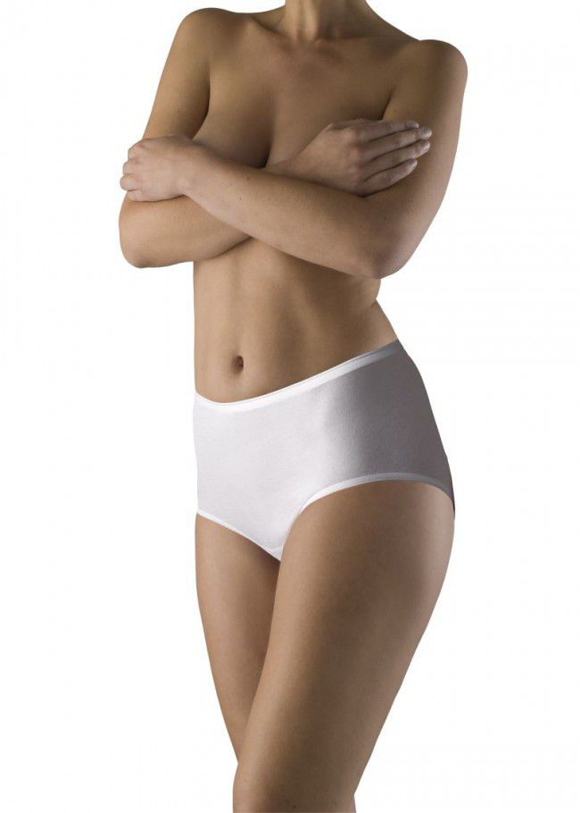 Ten Cate Basic Women Midi Wit 2-pack