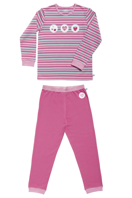 Lief! Girls Pyjama 4528 lsl Pink Stripe