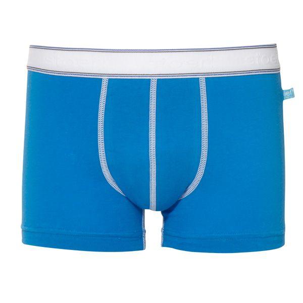 Jongensboxershort Stoer! Uni Blauw