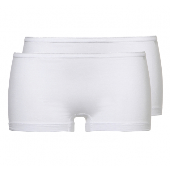 Ten Cate Basic Women Short Wit 2-pack
