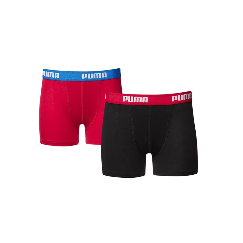Puma Boys boxers Red/Black 2-pack-128