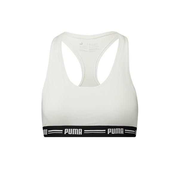 Puma Iconic Racer Back Bra Dames White