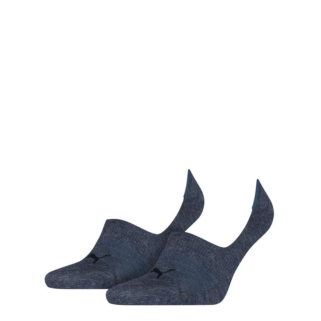 Puma Footie Unisex Denim Blue 2-pack-39-42