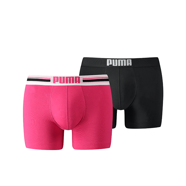 Puma PLACED LOGO Pink 2-pack