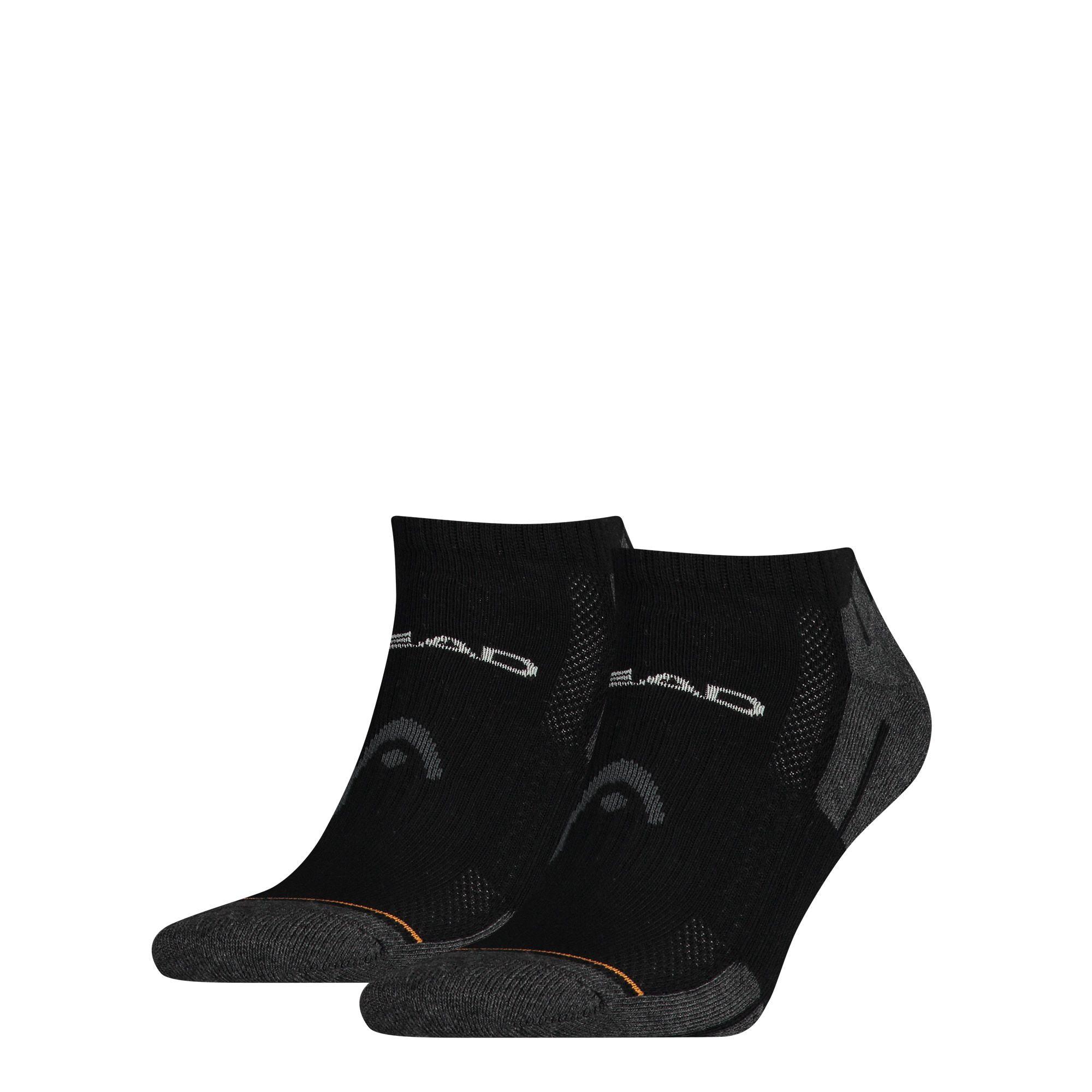 HEAD Performance Sneaker sokken 2-pack Unisex Black