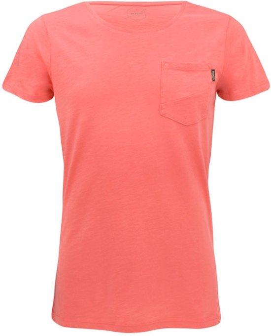 Brunotti Alonte Heren T-shirt Ronde hals Flamingo