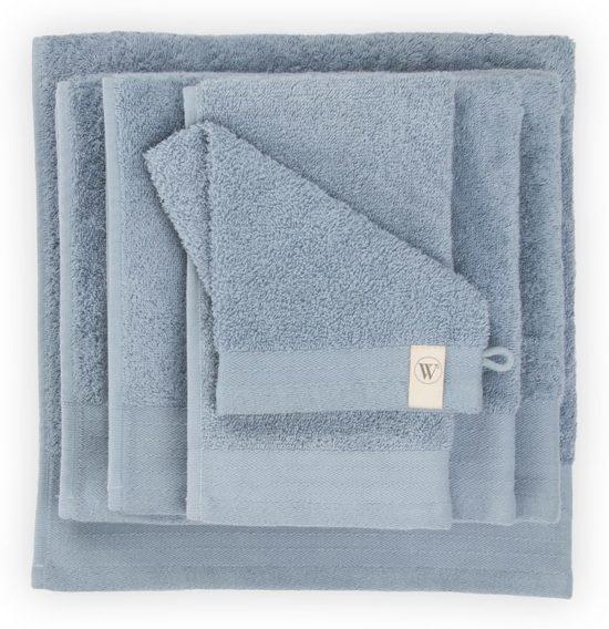 Walra Soft Cotton Baddoek 50 x 100 cm 550 gram Blue