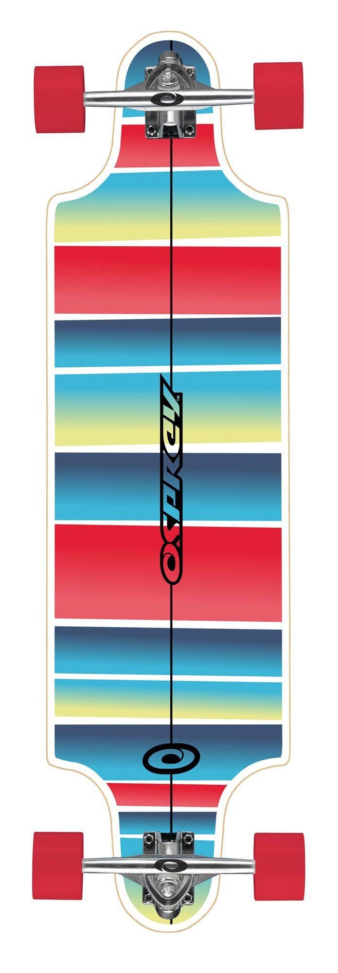 Osprey 38 Stripe Downhill Longboard