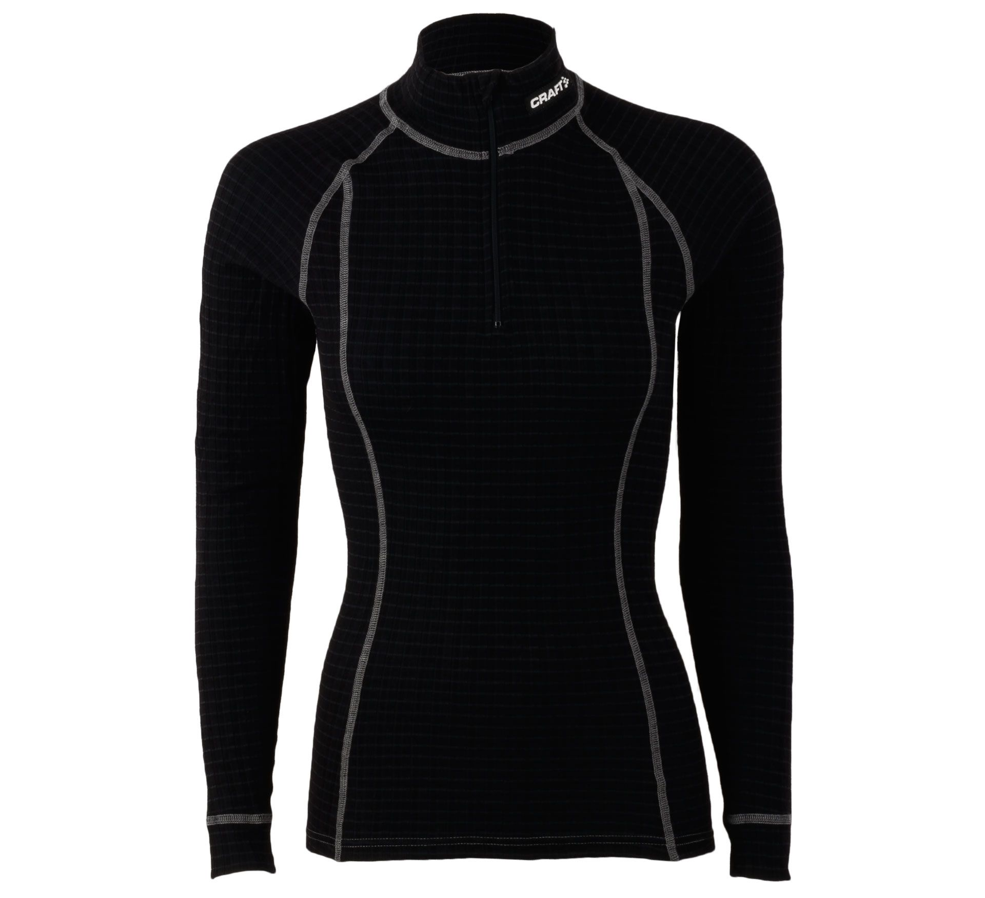 Craft active mockneck zip women