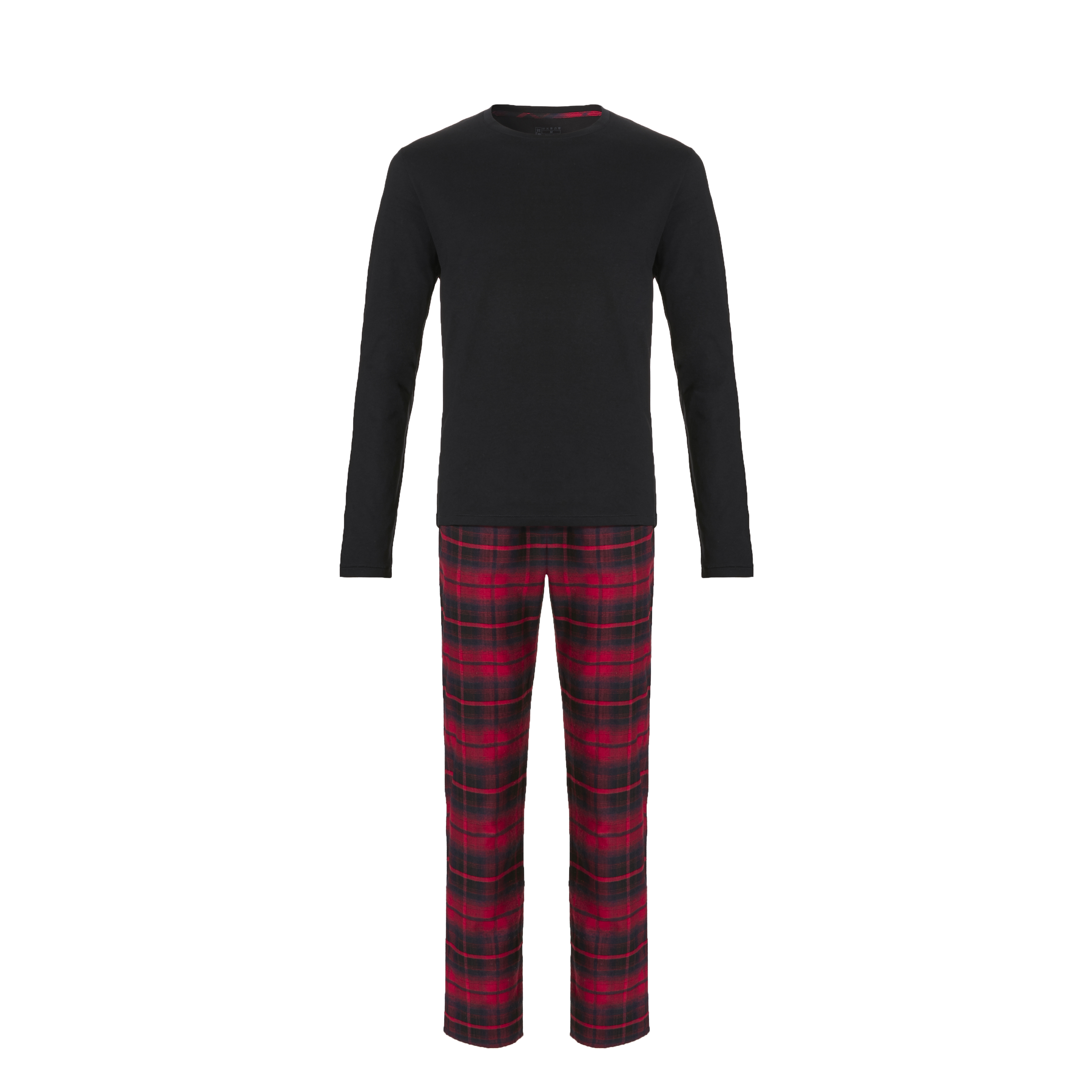 Ten Cate Men Pyjama Black/Red