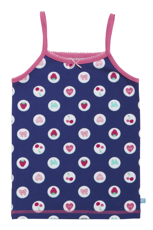 Lief! Girls Spaghetti Shirt 4520 Blue Dot Print
