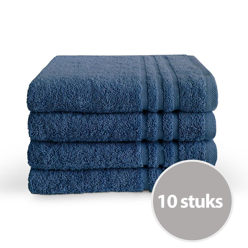 Byrklund handdoek 50 x 100 Blauw - 10 stuks
