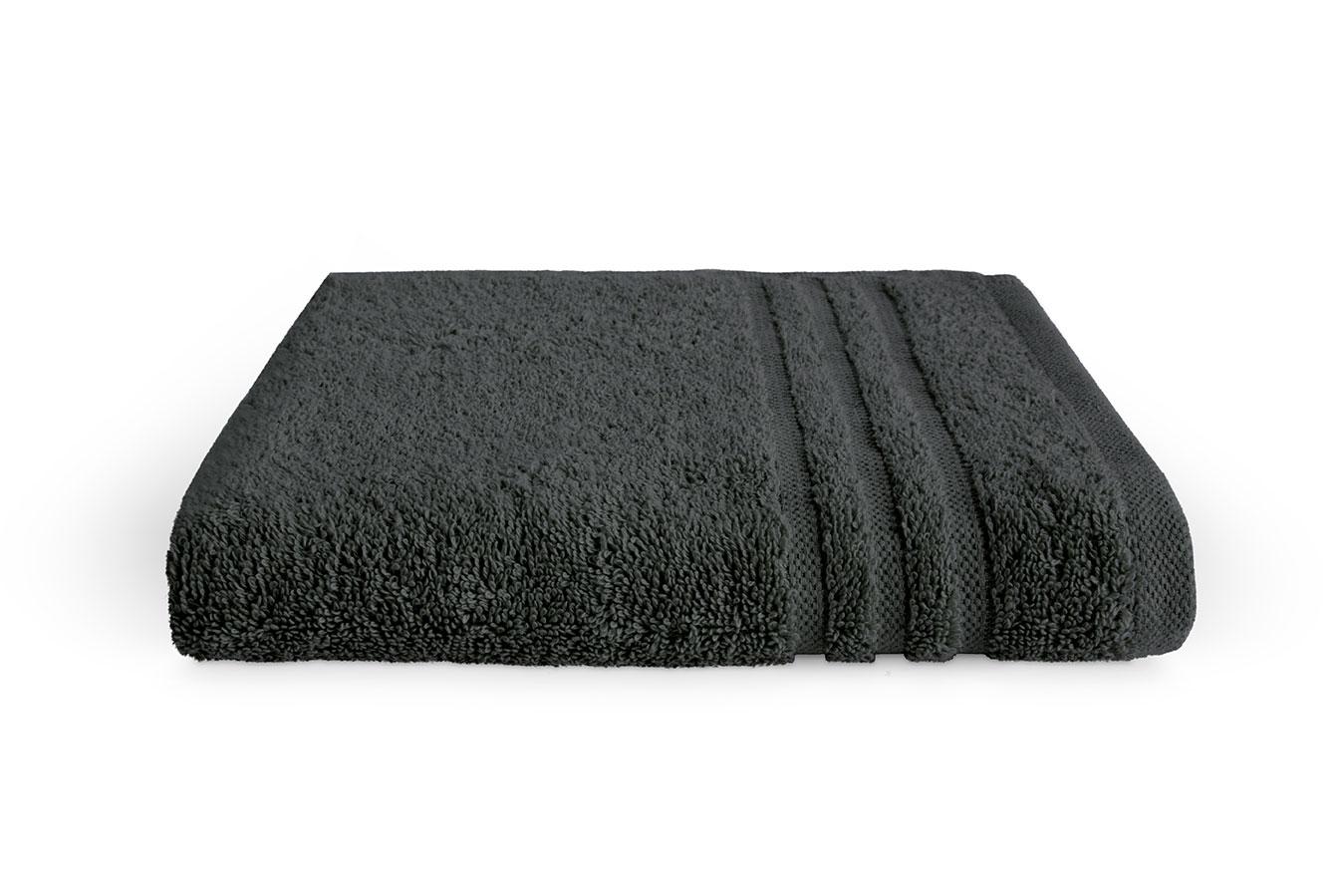 Byrklund Handdoek 50x100 cm 500 gram Antraciet