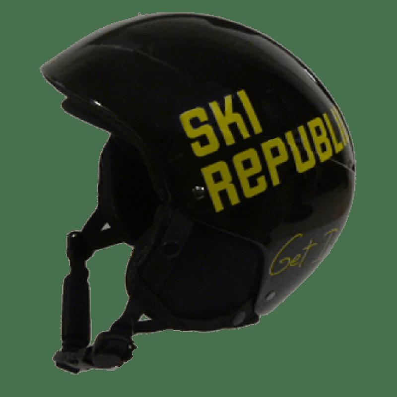 Cairn Skihelm Ski Republic zwart/geel - Diverse maten-54/56