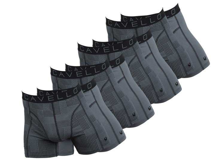 Cavello Boxershorts 8-Pack Donkergrijs
